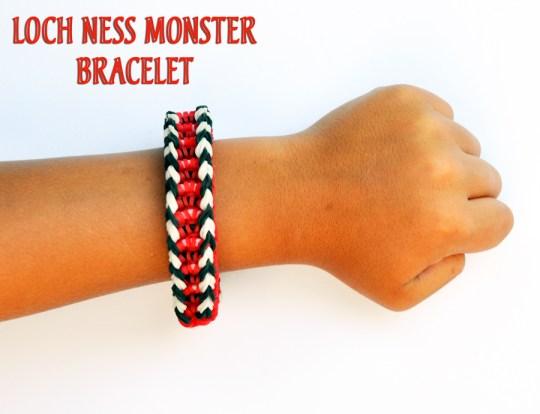 Loch Ness Monster Bracelet Tutorial