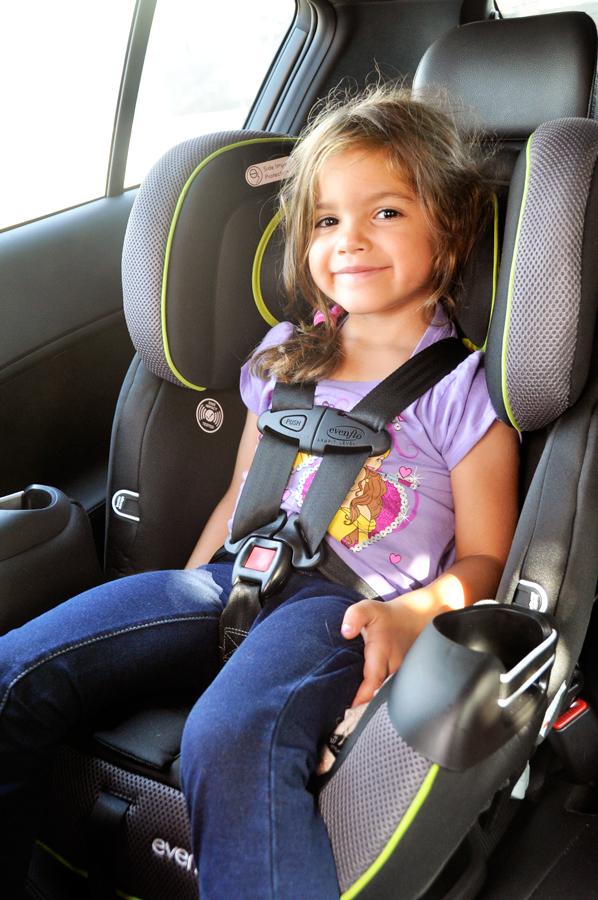 Evenflo ProComfort Symphony DLX Car Seat Eliminates Need