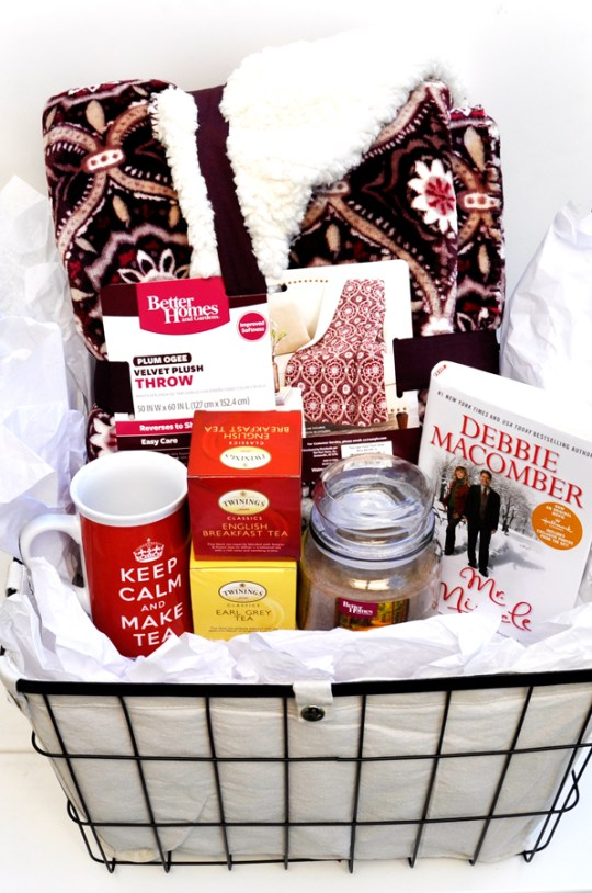 how to create a winter warm up gift basket 6 easy holiday gift basket ideas winter warm up gift basket