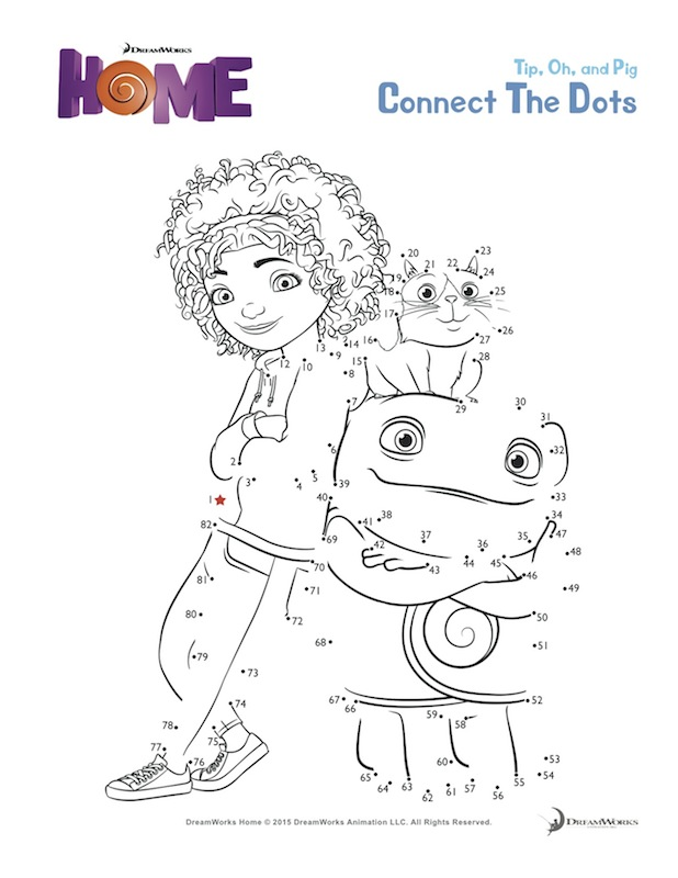 DreamWorks Home Printables + a Giveaway!