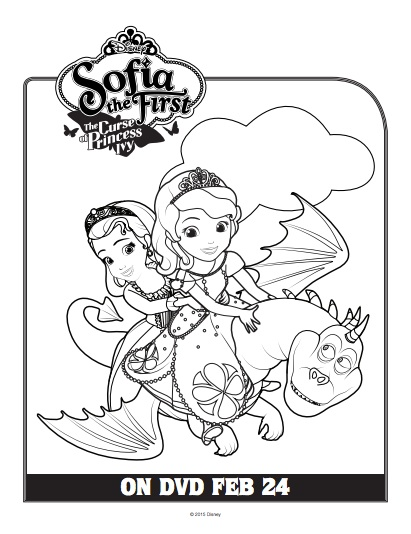 Sofia the First Printables and Activities Inspired by The
