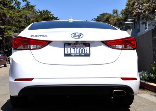 Hyundai Elantra Sport Rear