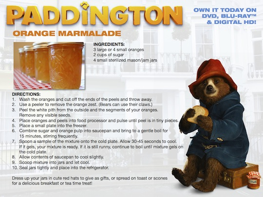 Paddington Orange Marmalade Cake