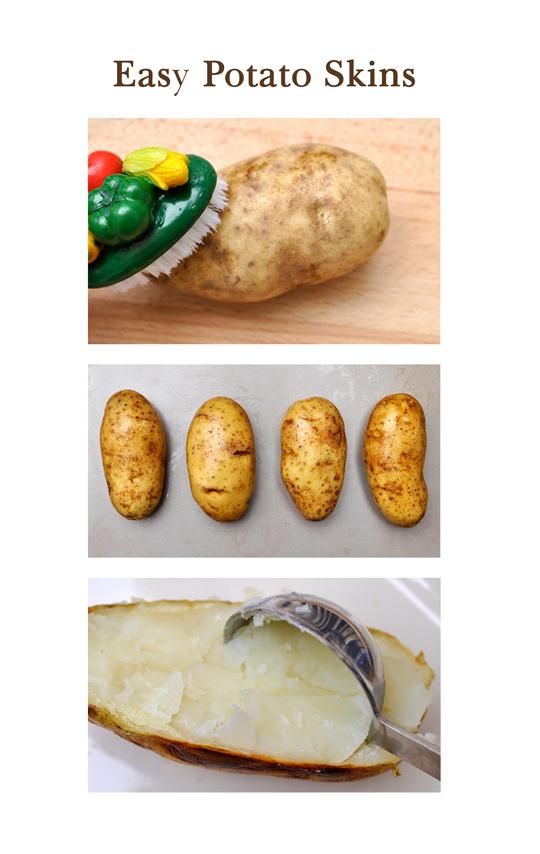 Easy Potato Skins