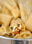 Spinach and Cheese Tamale