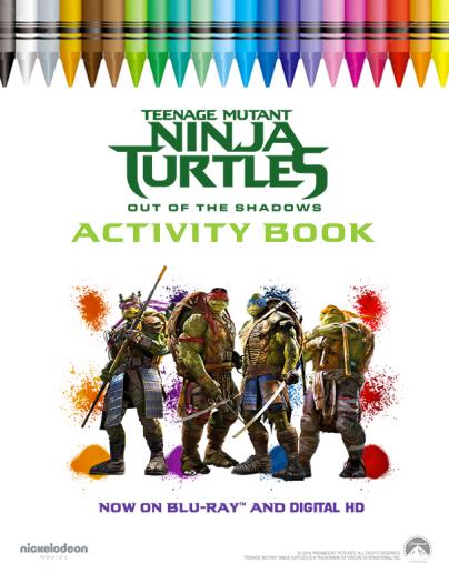 Teenage Mutant Ninja Turtles Activity Book