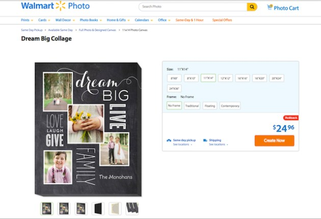 Dream Big Collage - Photo Gifts