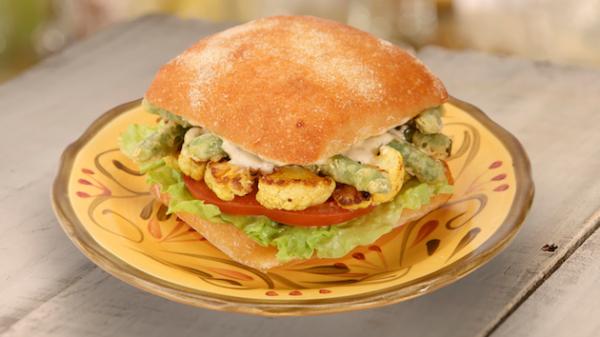 Cauliflower Sandwich - Beauty and the Beast