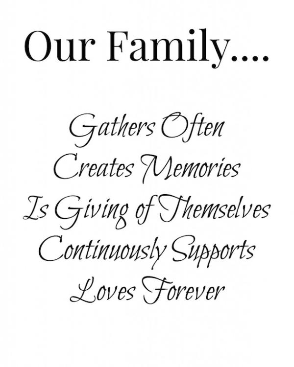 Family Printable Art