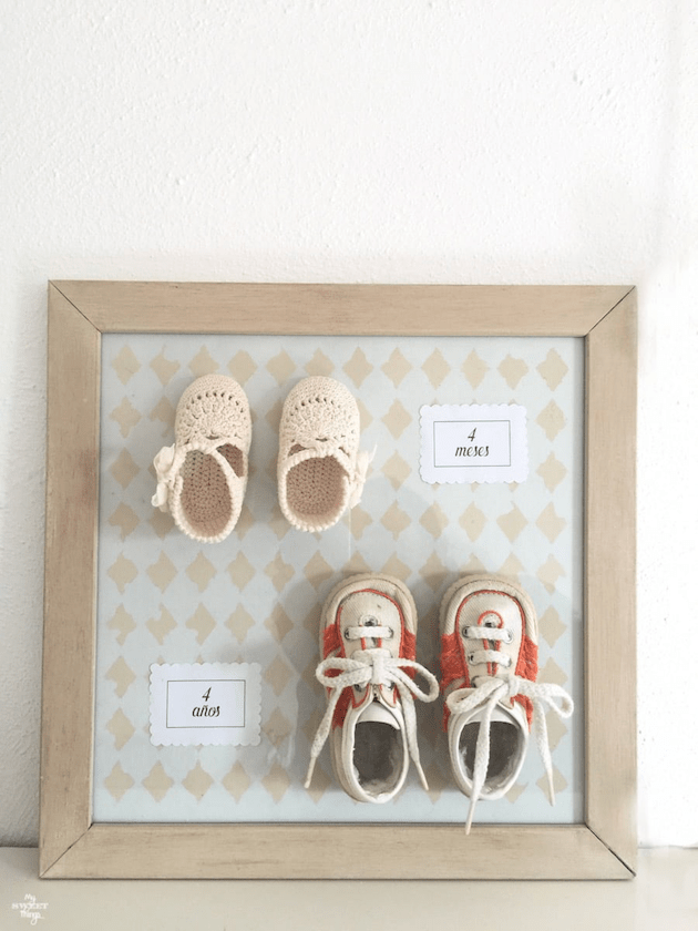 Upcycled Baby Shoes