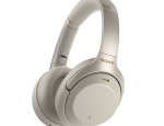 Sony Noise Canceling Headphones Silver