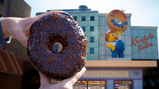 Taste of Universal Chocolate Donut