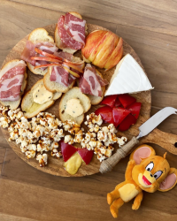 Tom and Jerry Charcuterie Board