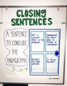 concluding sentence generator