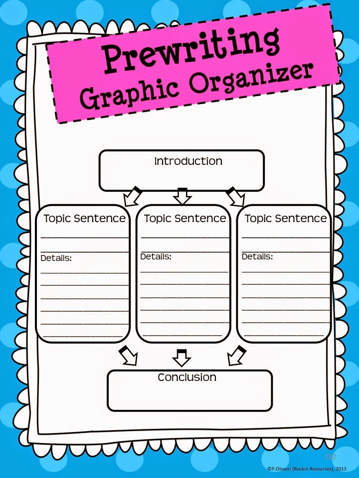 graphic organizer narrative writing The paragraph hamburger is a writing organizer that visually outlines the key components of a paragraph topic sentence, detail sentences, and a closing sentence are the main elements of a good paragraph, and each one forms a different piece of the hamburger.