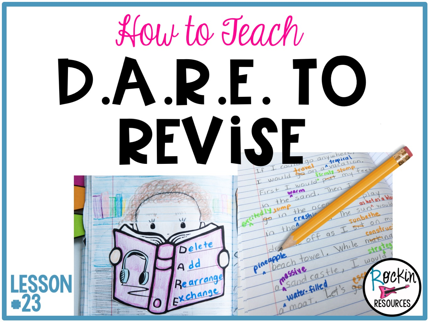 small resolution of Writing Mini Lesson #23- Revising a Narrative Essay   Rockin Resources