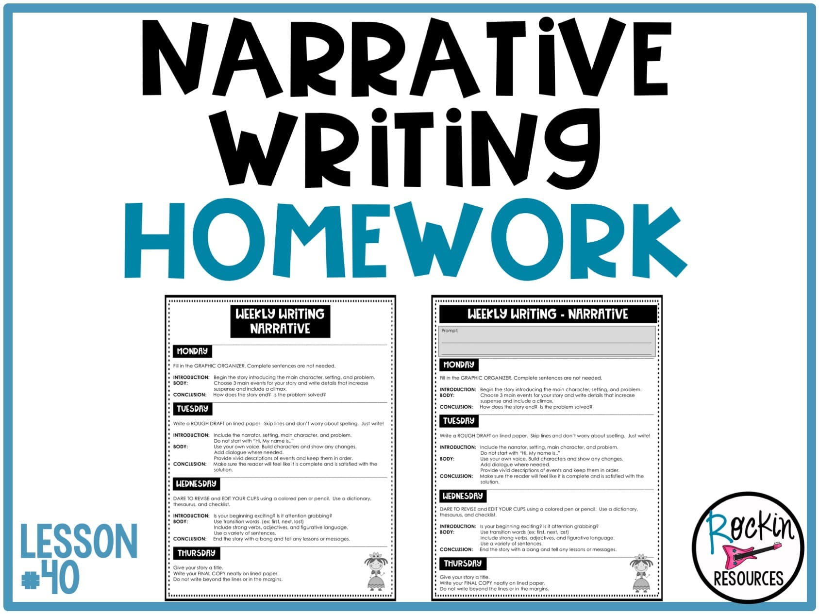 Homework help writing a story