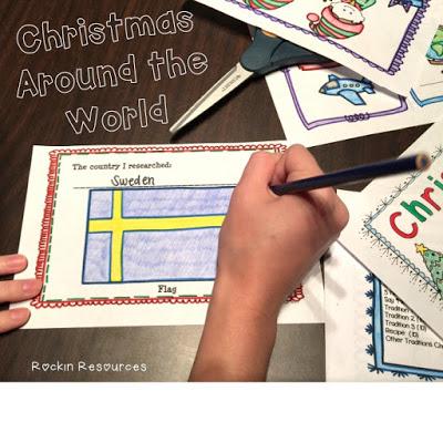 Christmas Around the World Web Quest - Rockin Resources
