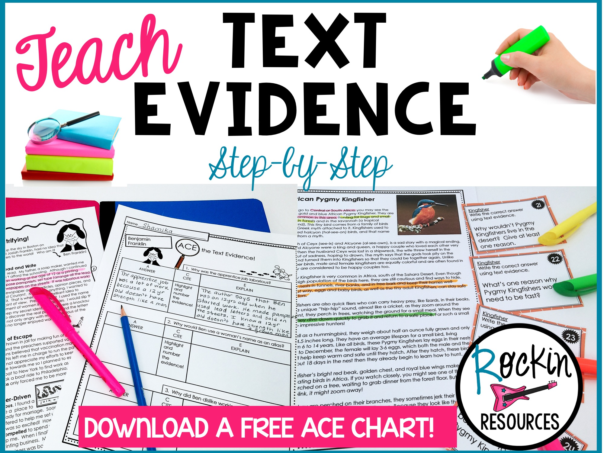 How to Teach Text Evidence   Rockin Resources [ 1500 x 2000 Pixel ]