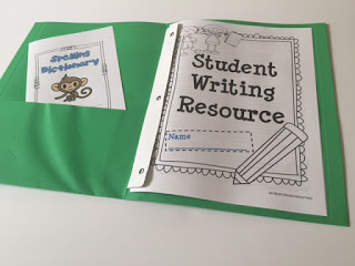 give students resources for writing workshop
