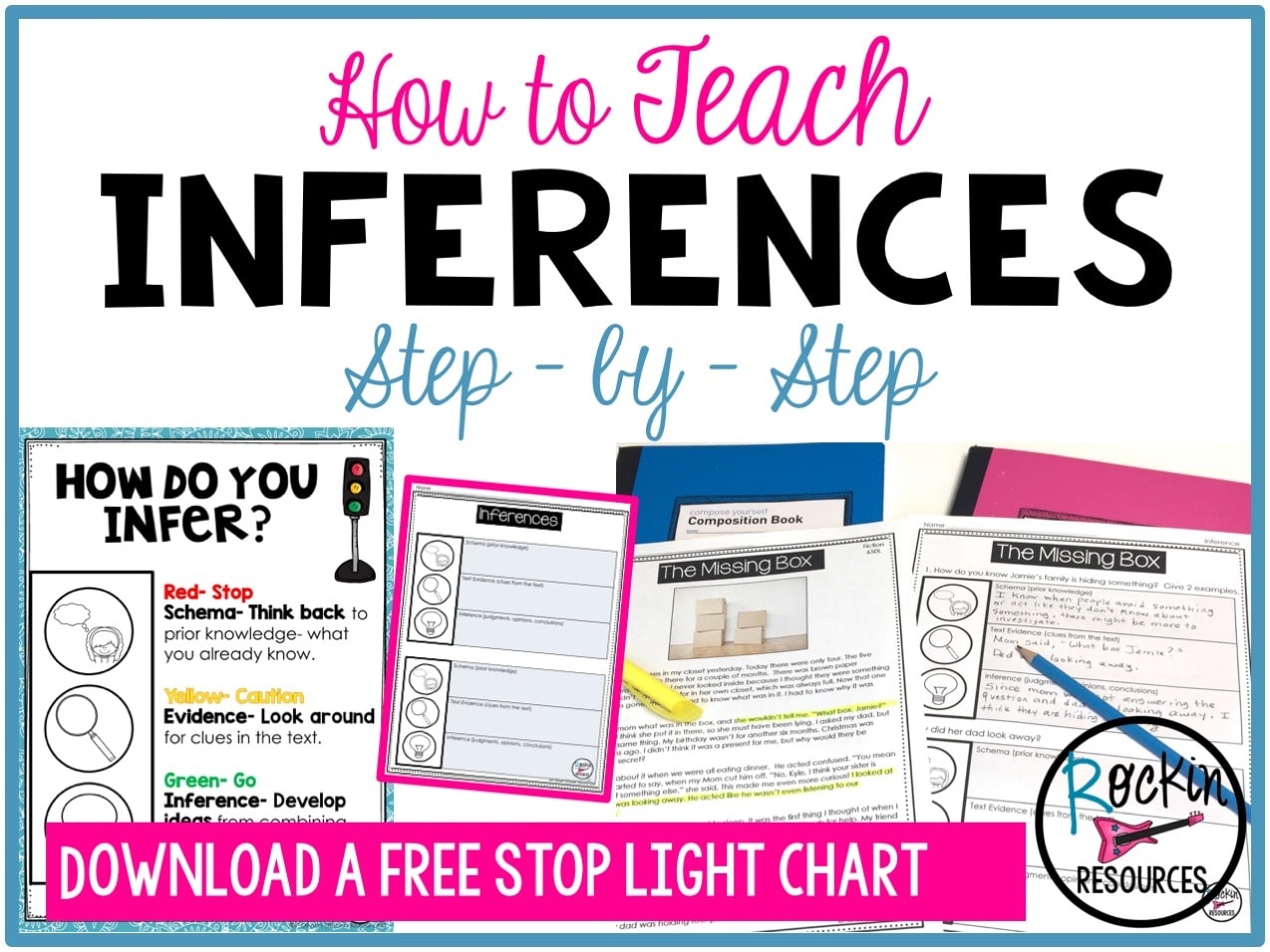 How to Teach Inference   Rockin Resources [ 956 x 1274 Pixel ]