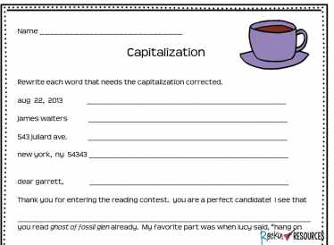 Do your students need help learning rules for capitalization and symbols for proofreading in their writing? This post will review basic capitalization rules needed for an upper elementary curriculum, provide ideas for teaching them, and symbols when proofreading. The writing mini lesson is part of a series of lessons designed for instructional scaffolding in writer's workshop. It is part of the CUPS (Capitalization, Usage, Punctuation, Spelling) for editing acronym where C stands for Capitalization. Read on for ideas!
