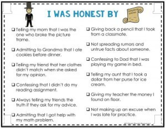 Teaching The Character Trait Honesty Rockin Resources