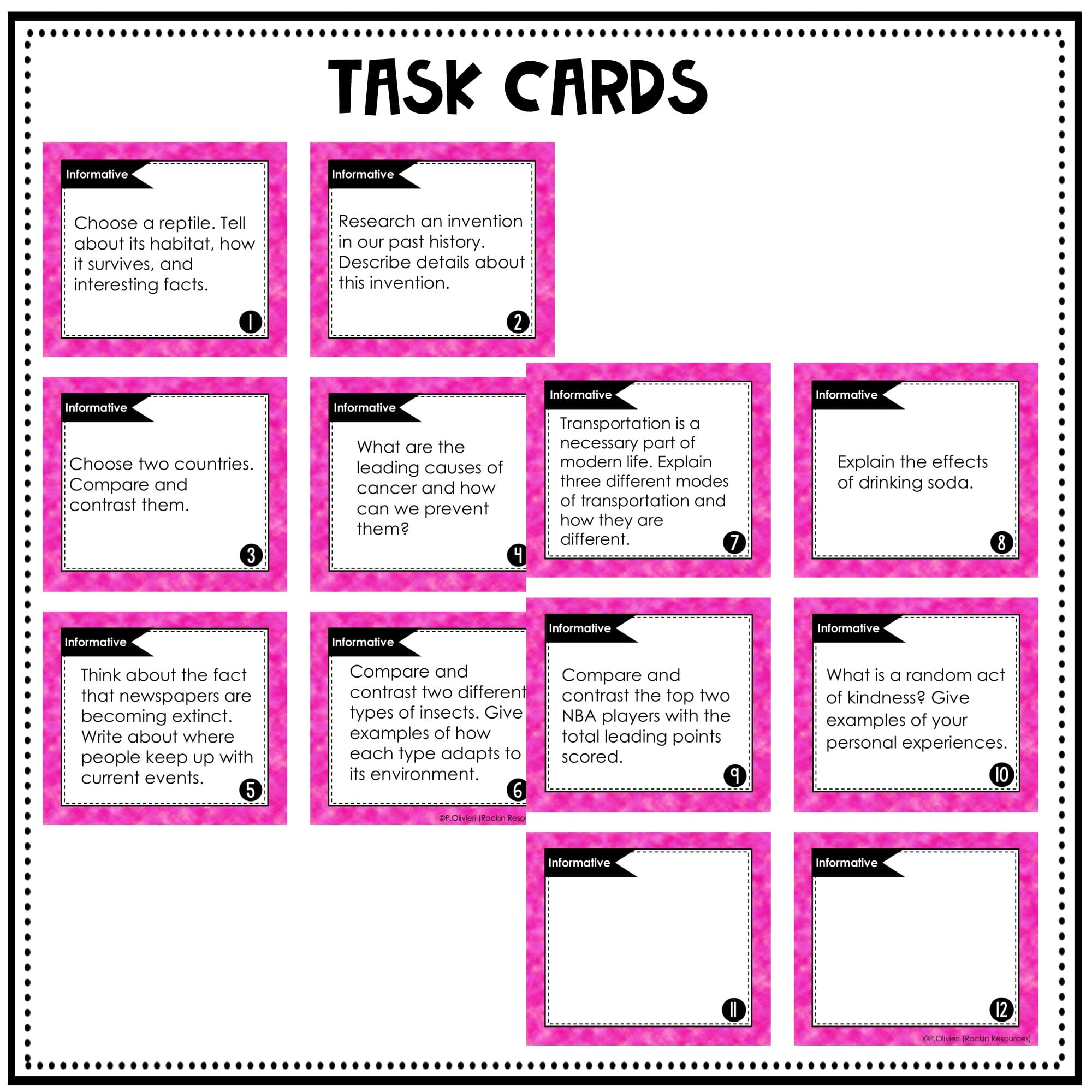 New 5th Grade Writing Prompts With Worksheets