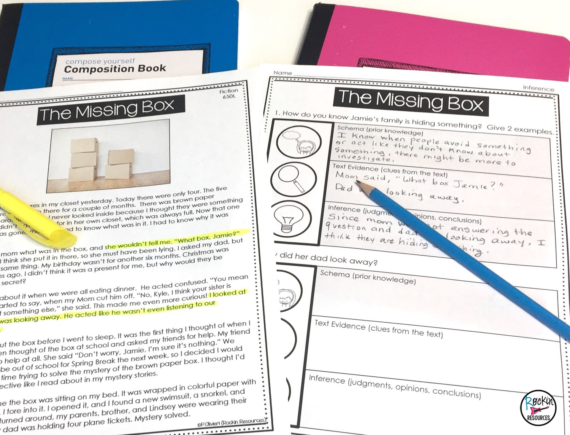 medium resolution of Step-by-Step Inference Unit   Rockin Resources