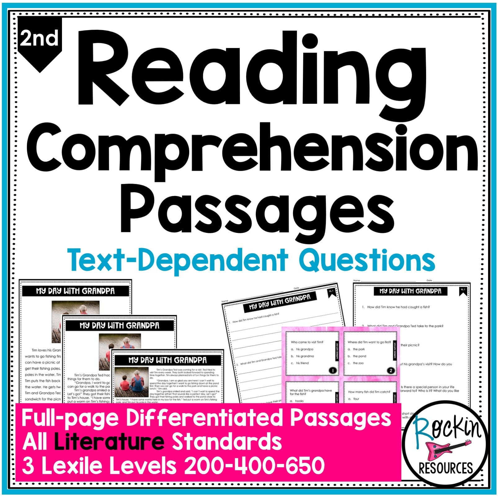 medium resolution of 2nd Grade Literature Reading Comprehension Passages   Rockin Resources