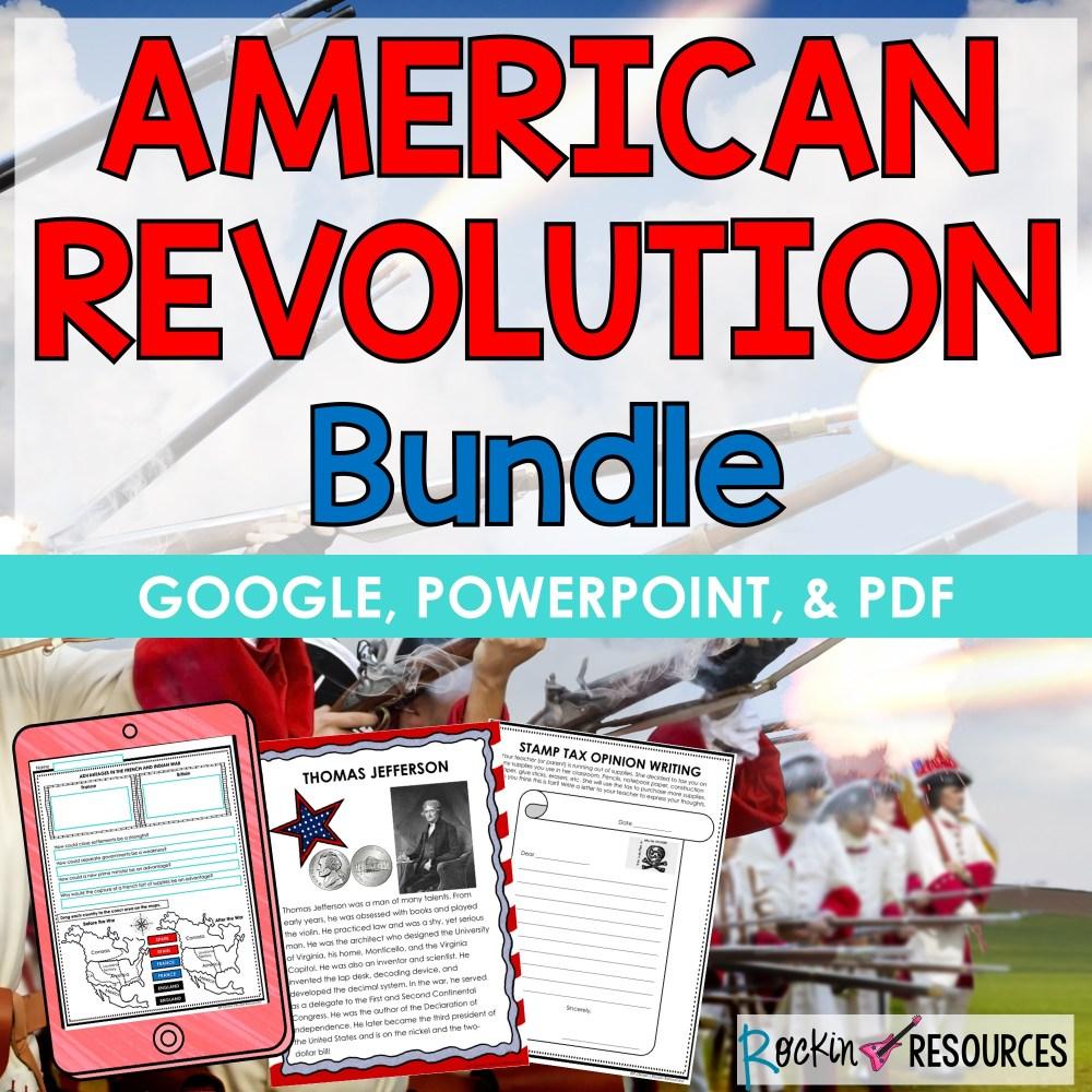 medium resolution of Revolutionary War American Revolution   Rockin Resources