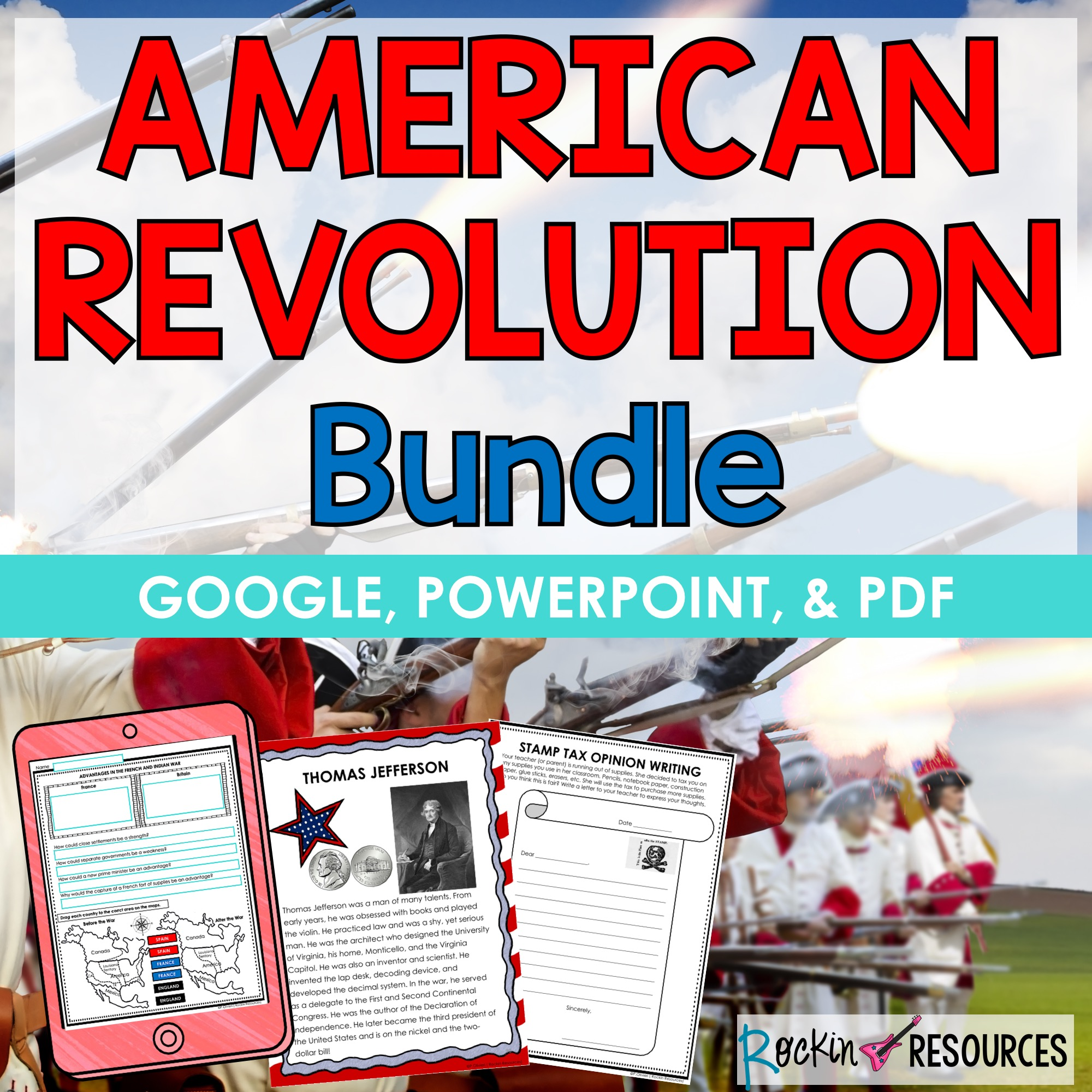 hight resolution of Revolutionary War American Revolution   Rockin Resources