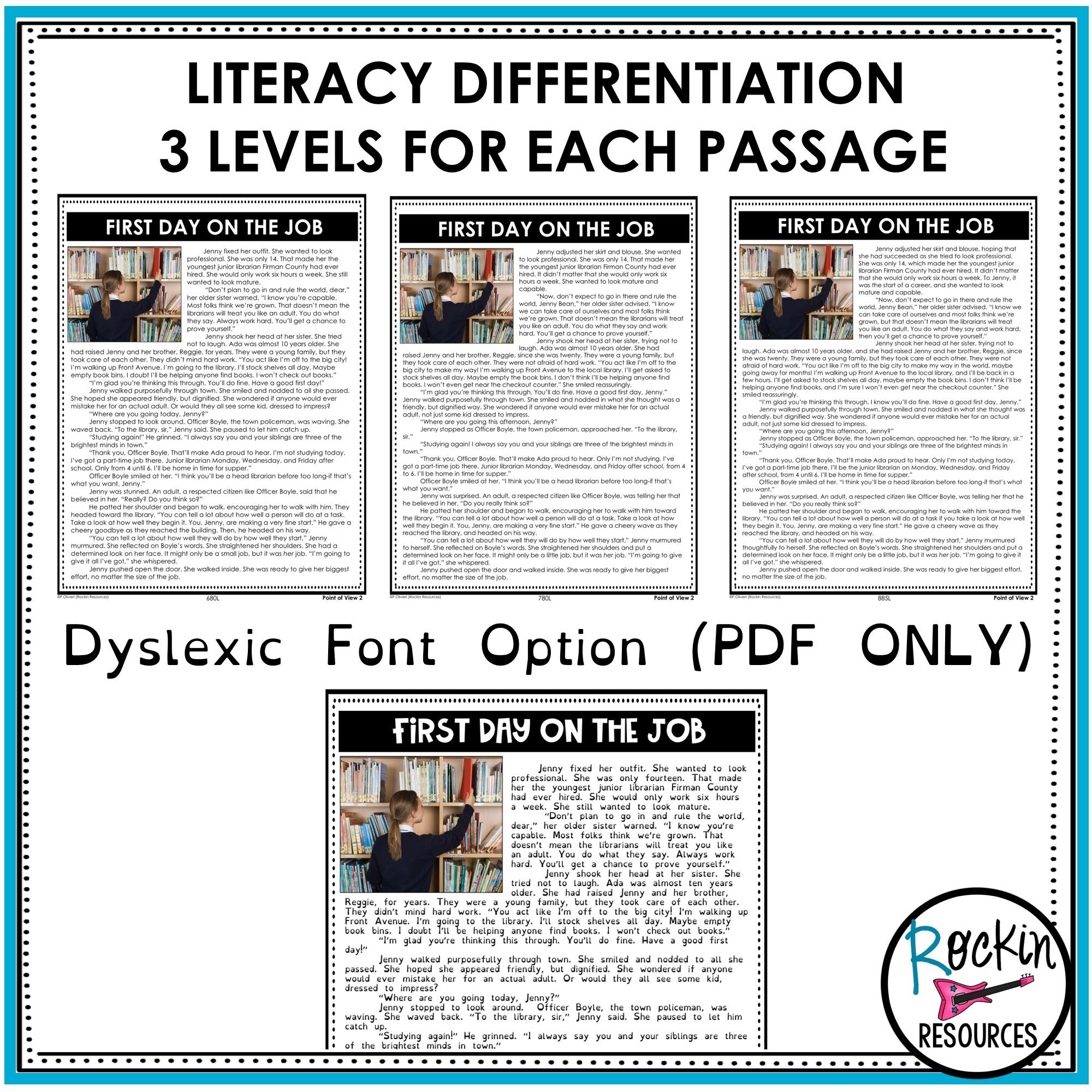 4th Grade Reading Comprehension Passages Bundle   GOOGLE   Rockin Resources [ 2000 x 2000 Pixel ]