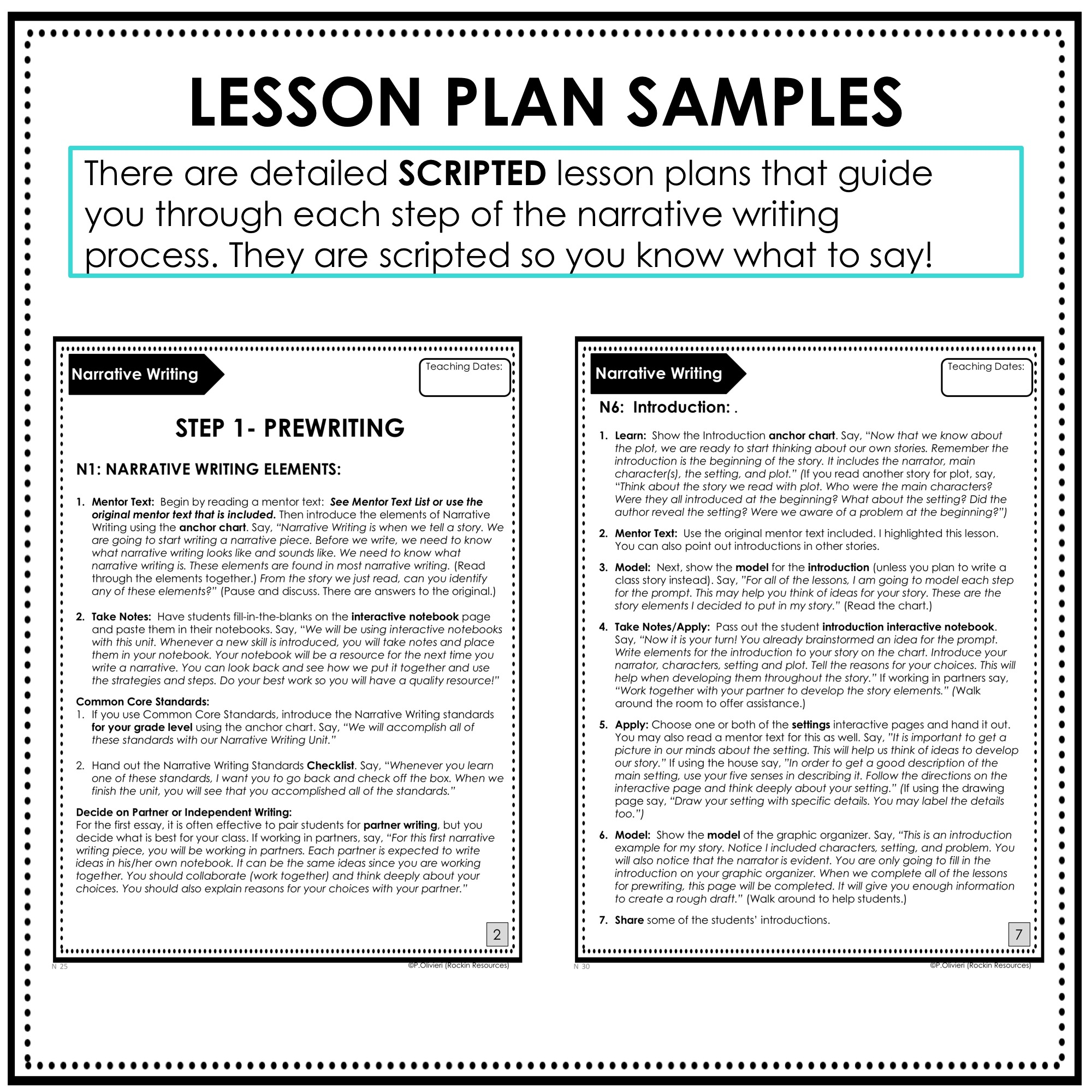 Step-by-Step Writing Program for Grades 3-5   Rockin Resources [ 2000 x 2000 Pixel ]