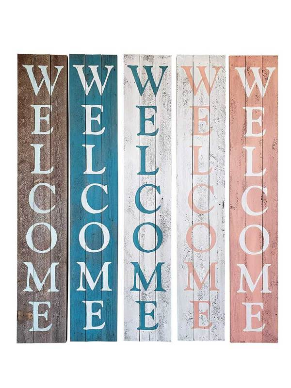 Welcome Sign Board All Colors