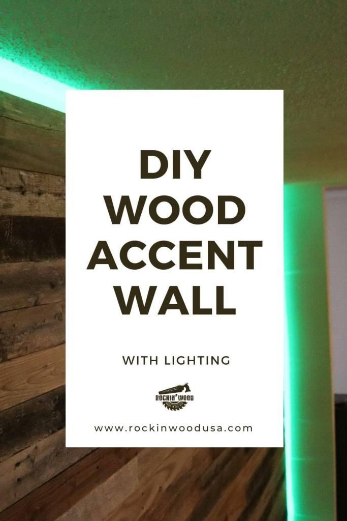 DIY Wood Wall Accent Wall