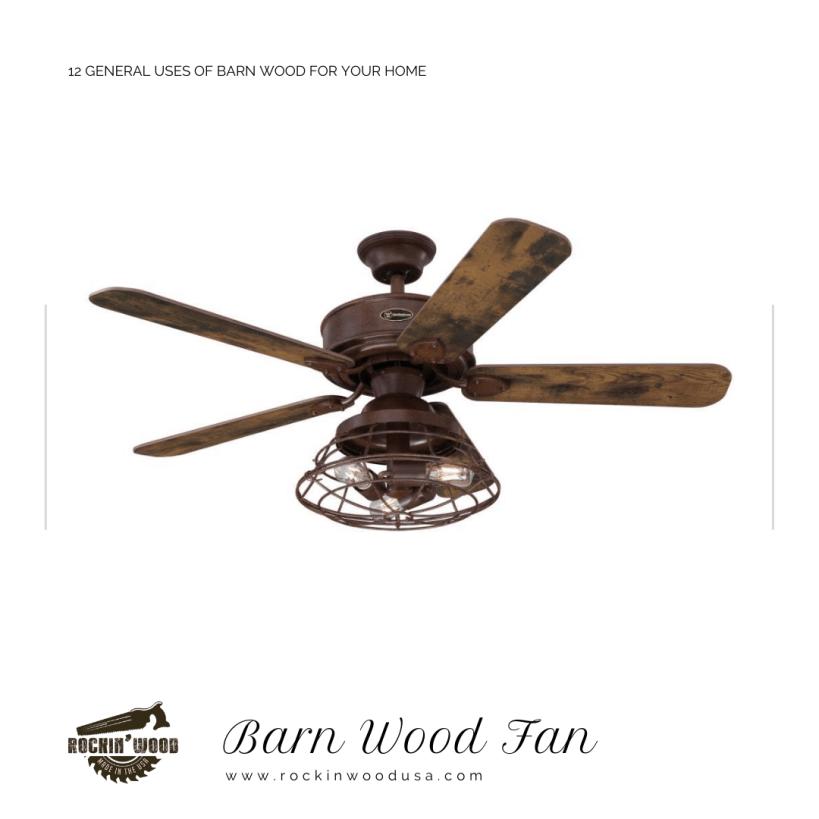 Barn Wood Fan
