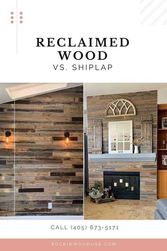 Pinterest-reclaimed wood vs shiplap