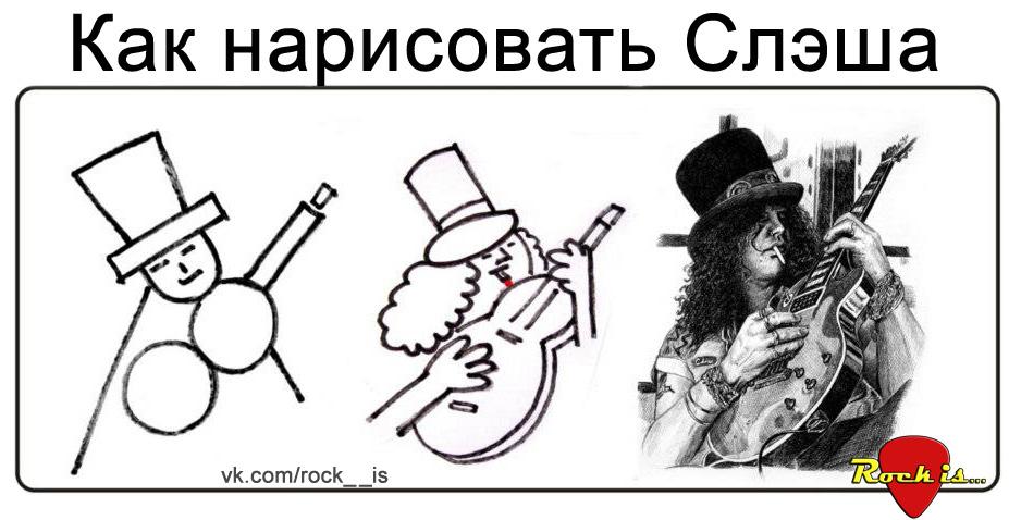 Рисуем Слэша