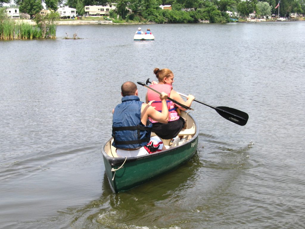 A Little Lake Time In One Of Our Canoes