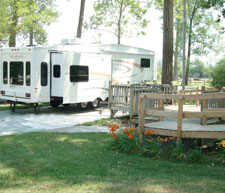 Rock Island KOA RV Site