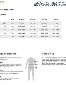 also size chart eddie bauer rh rocklandathletics