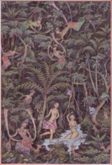 Ubud Bali Raja Pala Silasih Painting