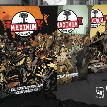 Maximum Apocalypse RPG is coming!