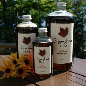 Snowshoe Pond Maple Syrup (Half Pint)