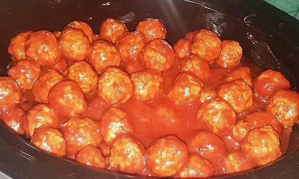 Maple Sweet & Sour Meatballs