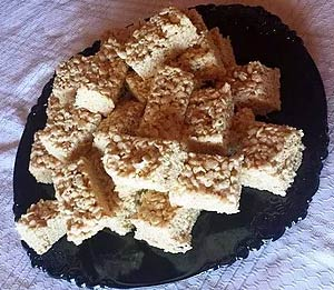 Maple Rice Krispie Marshmallow Treats
