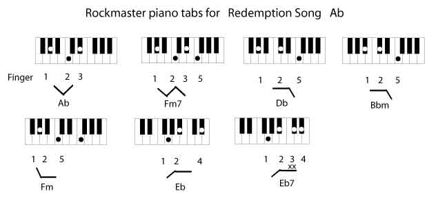 Redemption Song Ab With Tessanne Chin Rockmaster Songbook
