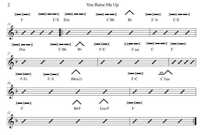 You Raise Me Up With Josh Groban Rockmaster Songbook