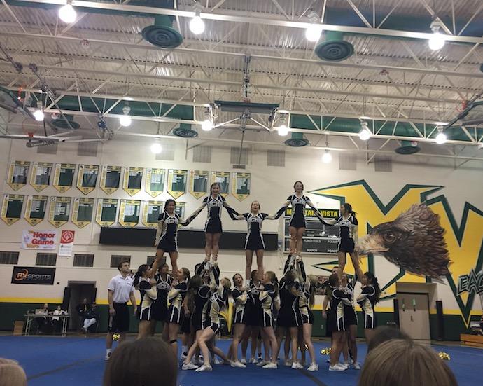 Mountain Vista High School Cheer